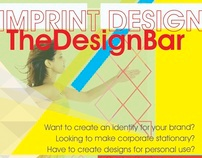 Imprint Design- Below the Line
