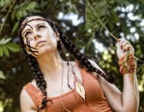 Pocahontas style