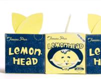 Lemonhead Candy Rebrand