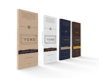 'YOND : Chocolate branding and packaging