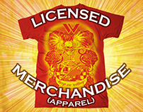 LICENSED MERCHANDISE (APPAREL)
