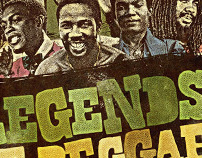 Legends of Reggae Poster