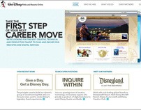 Disney Recruitment Site