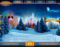 Disneyland Holiday Minisite
