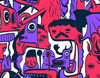ungu pink
