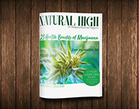 Natural High magazine mock-up