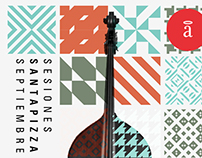 Ciclo Jazz Santapizza / Afiches