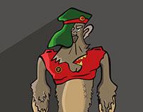 Mr. Gorilla - Character Design