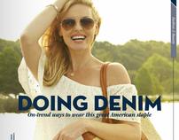 Doing Denim; Lifestyle Fashion Editorial