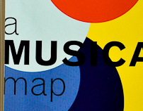 A Musical Map - an Infographics Project