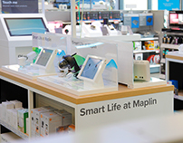 Concept store branding -Smart Life at Maplin