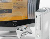 "Xbox 360 Dashboard UI ""Blades"""