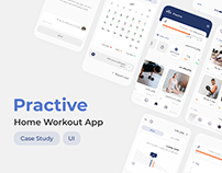 Practive Home Workout App — Case Study