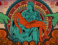 new illustration...(pieta).... in between human and god