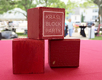 Krasl Block Party Logo