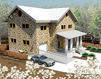2011 Autodesk Revit two-storey house