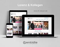 Lorenz & Kollegen Website