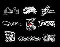 Lettering. Logo.