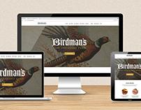 Birdman's Website