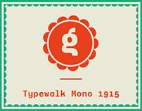 Typewalk Mono 1915 (Free) Font