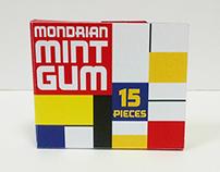 Mondrian Mint Gum