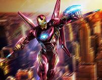 Iron Man Hot Toys retouching