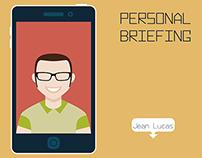 Design | Redação | Personal Briefing