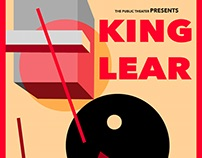 King Lear Alternative Play Posters