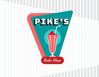 Pike's Soda Shop [school project]