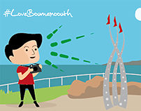 #LoveBournemouth game illustrations