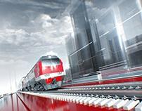 Russian Railways. Styleframes.