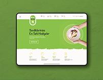 Pasta Kapında- Landing Page