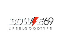 #Bowie69 by #feelgoodtype