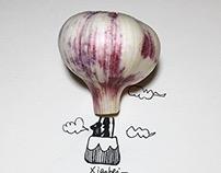 fire balloon——garlic