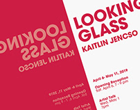 Exhibition Branding: Looking Glass