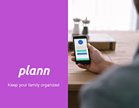 Plann - Family organization app, UX project. Pt. 2