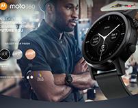 Moto360 Website