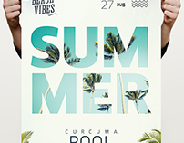 Summer Pool Template