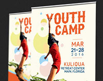 Youth Camp Banner Template
