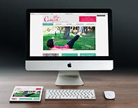 Pilates by Camille Logo + Web Design