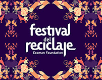 Festival del reciclaje - Gráfica