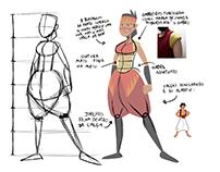 Yari - Character Design