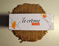 Le crème - Packaging