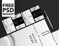 Free Stationery Mock Up
