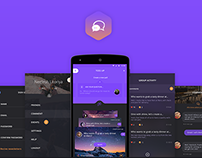 TOSS up app (redesign)