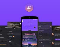 TOSS up app (redesign)