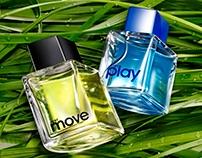 Avon Perfume Move,Play