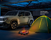 Jeep Renegade - Camping