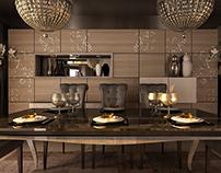 Grand Rotana - sharm el sheikh - villa dining