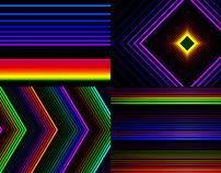 Neon Feedback - VJ Loop Pack (5in1)